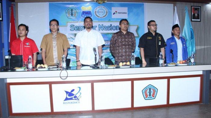 PMII Kalbar dan BEM Polnep Gelar Seminar Nasional Energi Baru Terbarukan