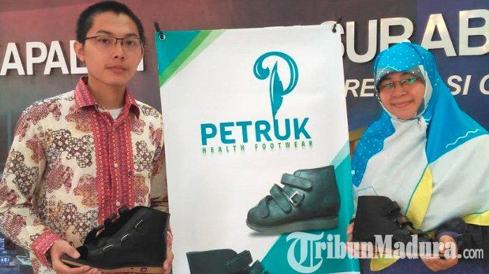 Dosen PPNS Ciptakan Sepatu Petruk Untuk Bantu Penderita Stroke Berjalan