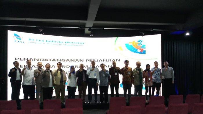 Politeknik Negeri Jakarta Sepakati Kerjasama Magang Mahasiswa dengan PT LEN