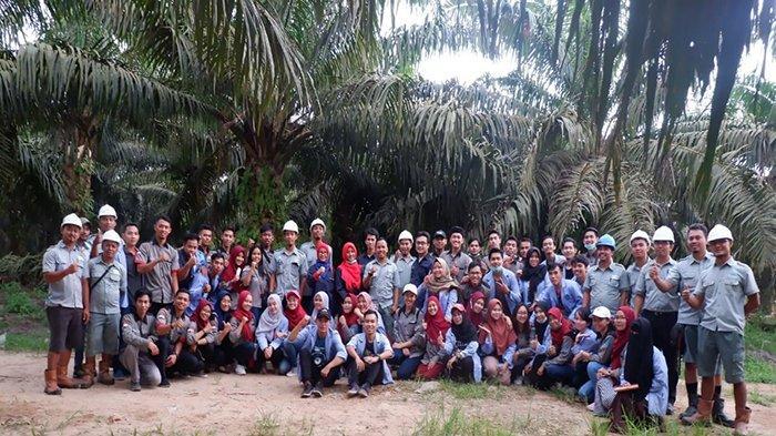 Mahasiswa Politeknik Negeri Pontianak Belajar Industri Perkebunan Kelapa Sawit Kalbar
