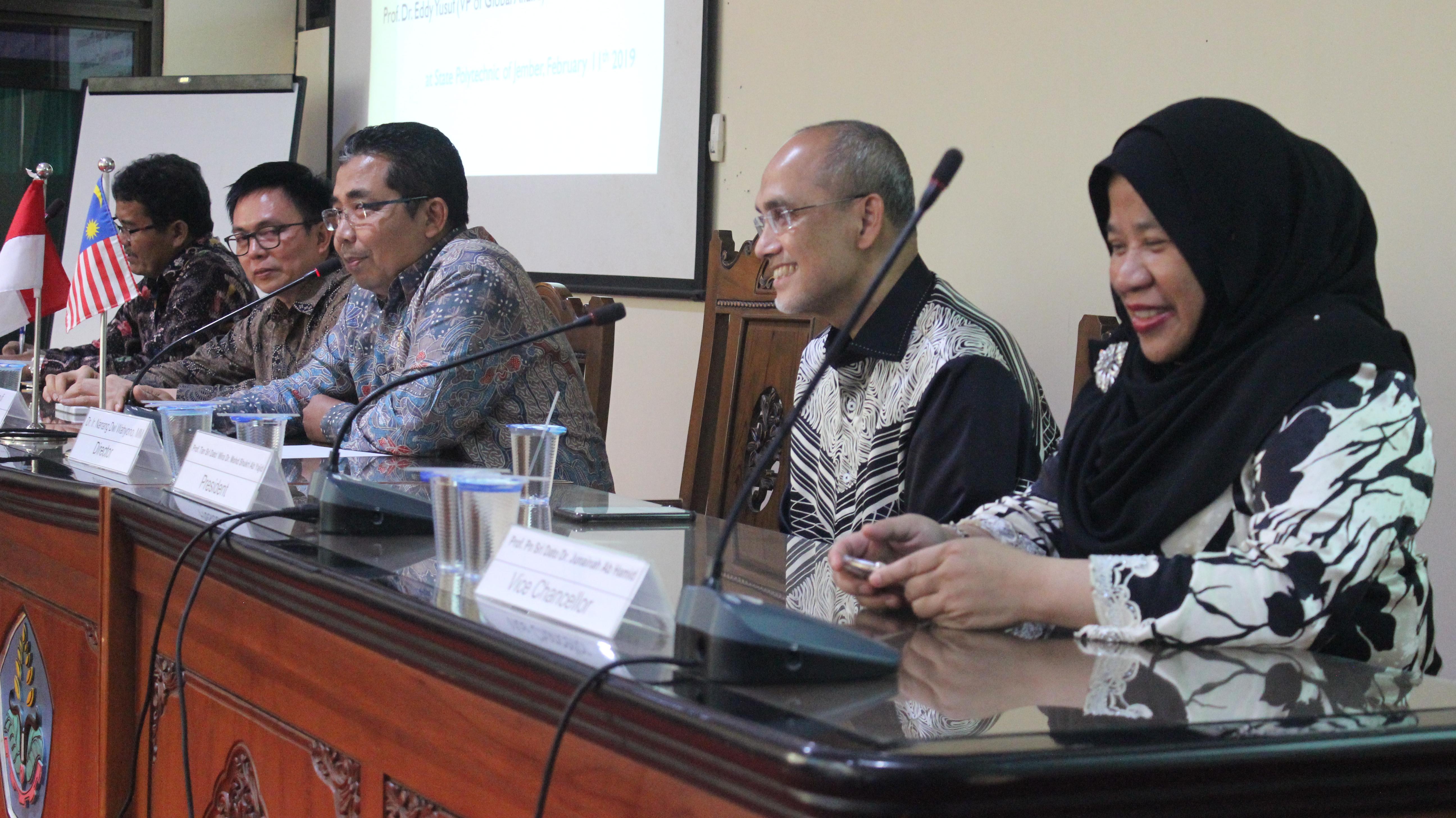 Presiden MSU Malaysia Apresiasi Capaian Polije