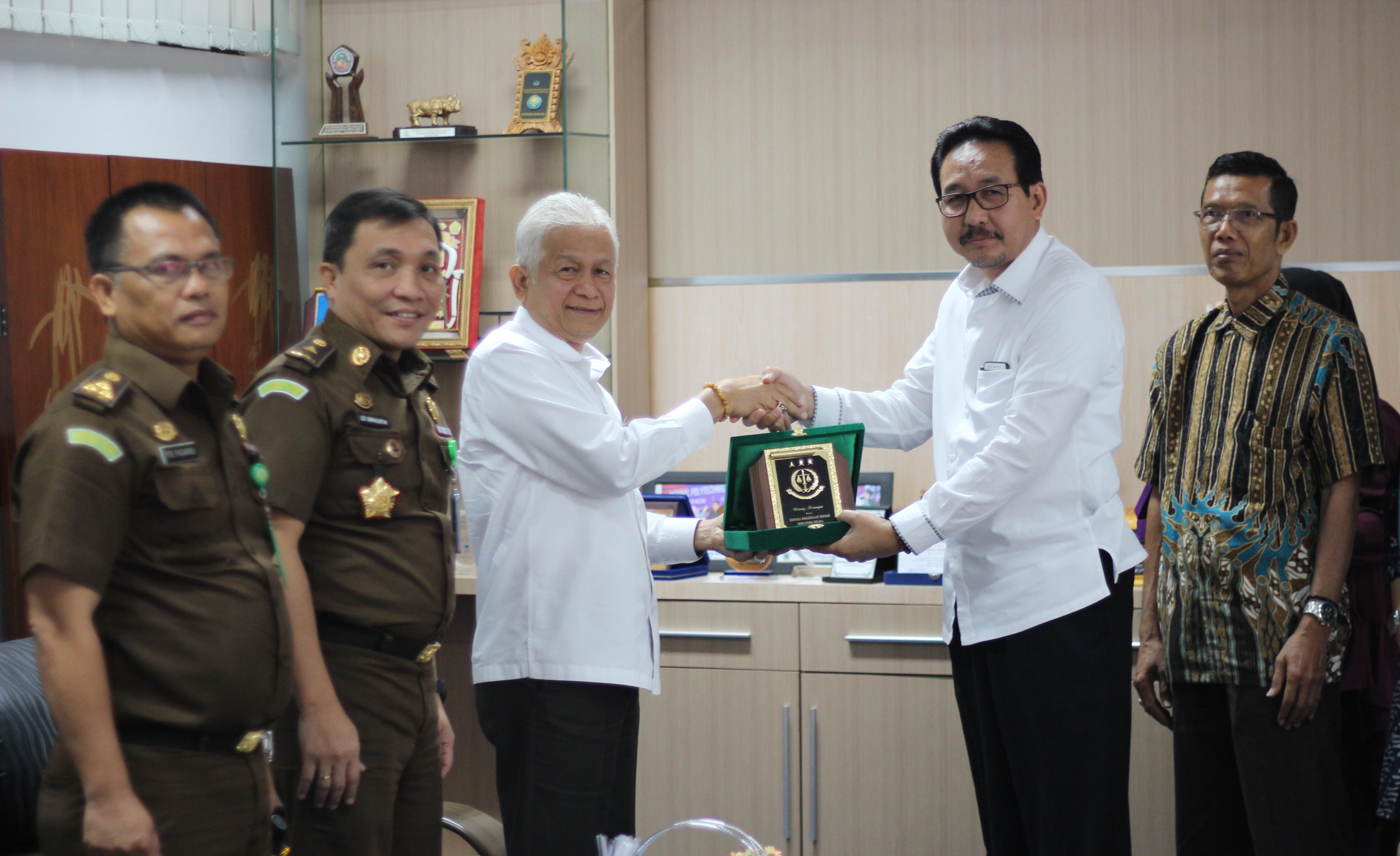 Politeknik Negeri Medan Menerima Kunjungan Dari Kejaksaan Tinggi Sumatera Utara