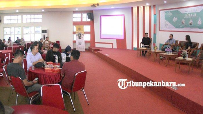 Talkshow Himasistifo PCR, Undang Kitabisa.com, Brosispku, GreenSmoothie Factory dan Dilo Pekanbaru