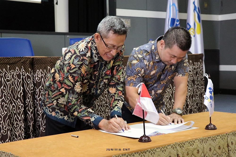 Gelar Kuliah Tamu, PENS dan PT. Kawan Lama Resmi Jalin Kerjasama