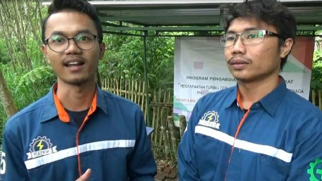 Mahasiswa Malang Ciptakan Listrik untuk Lutung Jawa