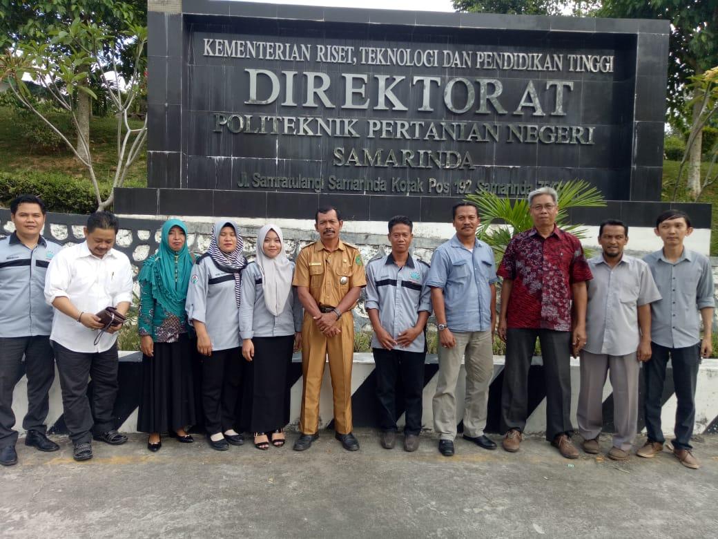 Pemdes Bhuana Jaya Berkunjung Ke Politeknik Pertanian Negeri Samarinda