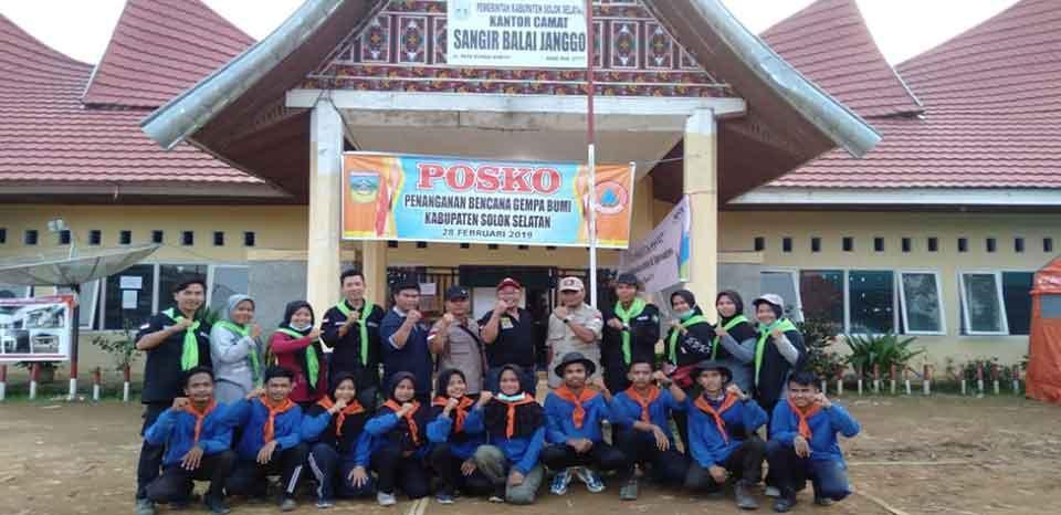 MPU Mapala Politeknik Negeri Padang Peduli Gempa Bumi Solok Selatan