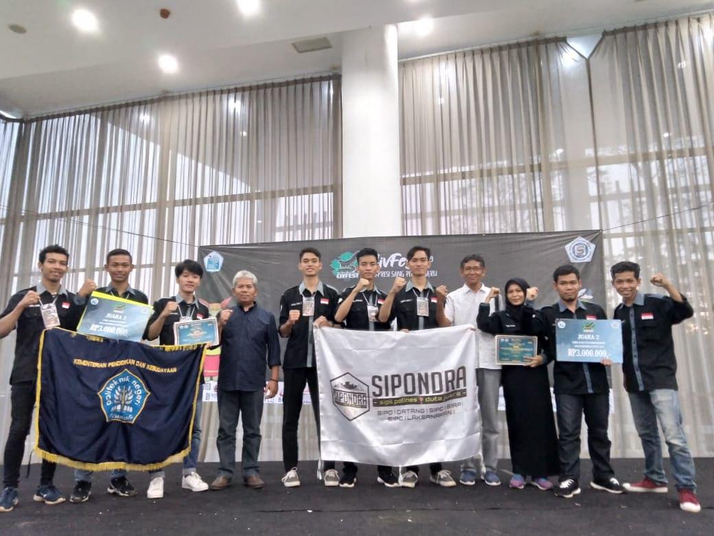 Tim Polines Raih Juara di Civfest 2019 Politeknik Negeri Jakarta