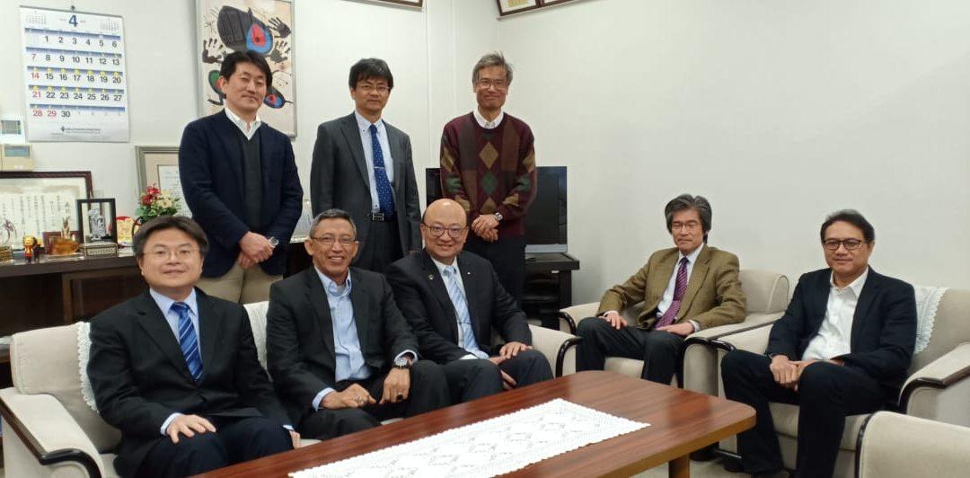 PENS Memperkuat Kerjasama dengan 5 Universitas di Jepang