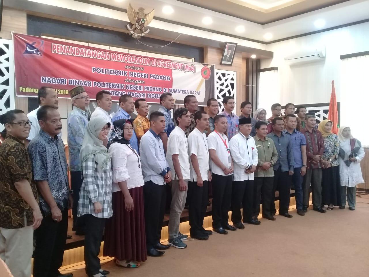 Delapan Nagari Dapat Dukungan Politeknik Negeri Padang